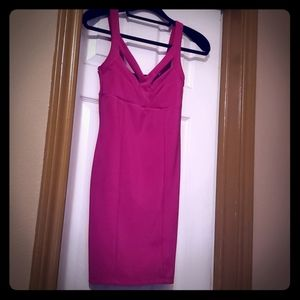Form-fitting Pink Dress